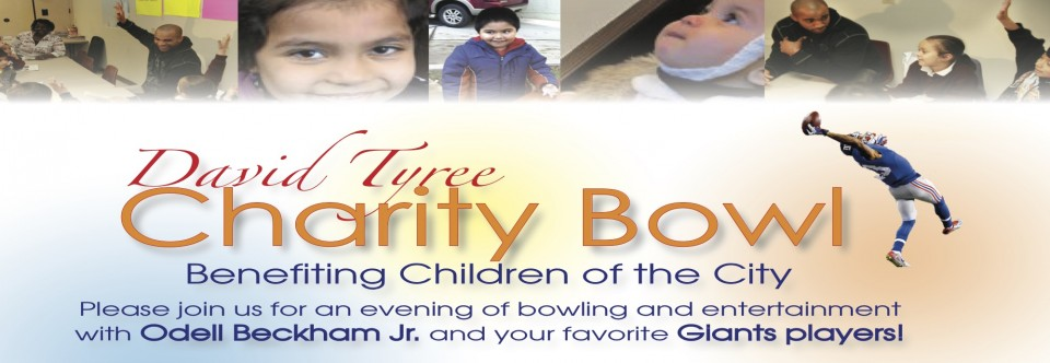 Upcoming David Tyree Charity Bowl June 4, 2013